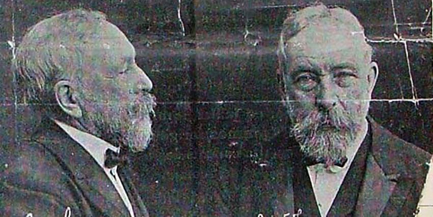تصویری از چالز د ویله ولز که توسط دادگاهی در فرانسه محکوم و تحت تعقیب قرار گرفت