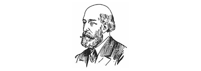 تصویری طراحی شده از چالز د ویله ولز کلاهبردار مرموز و قمارباز چیره دست