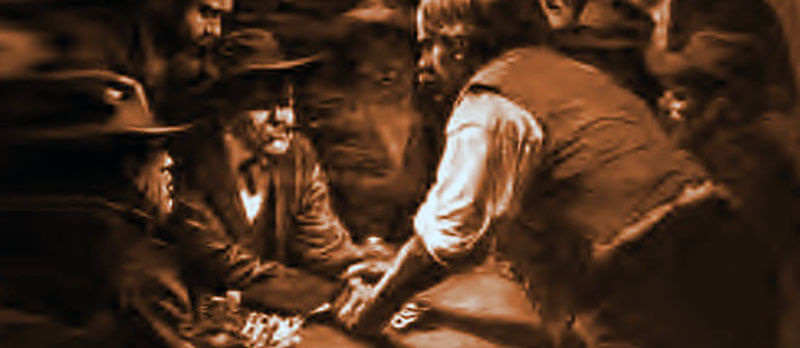 ویلیام کانادا بیل جونز بطور عمده با راه انداختن بازی و دعوت از مردم برای شرط بندی امرار معاش می کرد