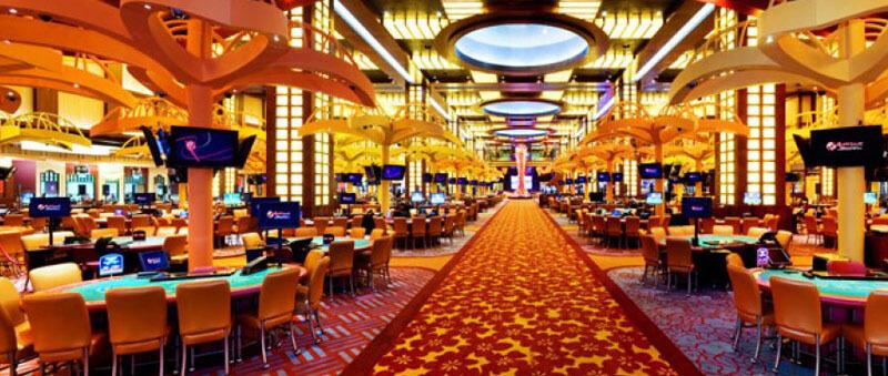 در محیط یک قمارخانه بازیهای بسیاری برای شرط بندی وجود دارد