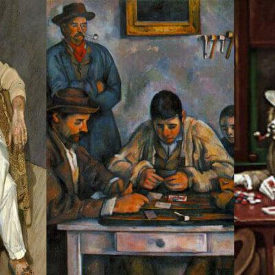 نقاشی درباره قمار
