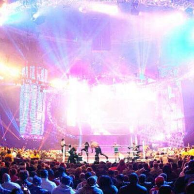 عکس مسابقات WWE