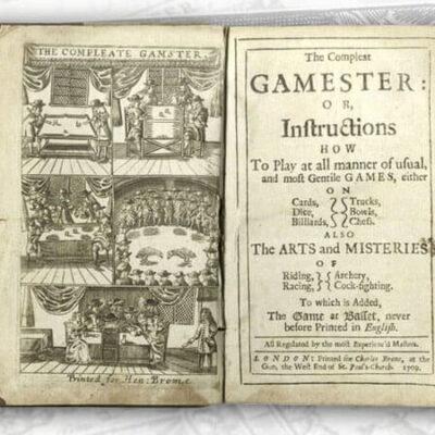 کتاب قدیمی قمار