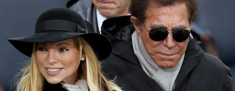 استیو وین و همسرش