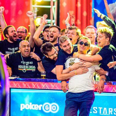 حسین انسان قهرمان مسابقات جهانی پوکر
