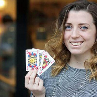 ایندی ملینک و طراحی ورق های بازی با هدف ایجاد برابری جنسیتی
