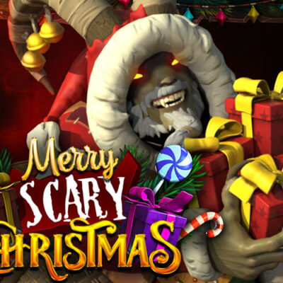 بازی اسلات کازینویی آنلاین کریسمس ترسناک مبارک