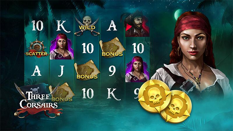 بازی اسلات کازینویی آنلاین جدید سه دزد دریایی