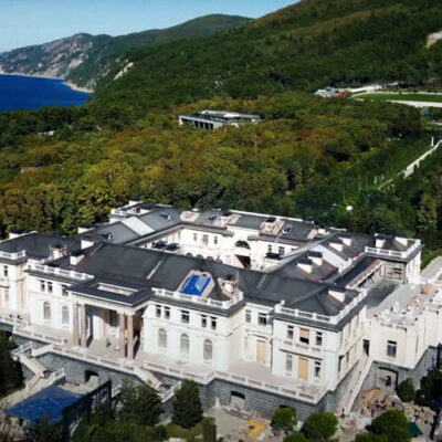 ساختمان قصر لوکس شخصی ولادیمیر پوتین مجهز به کازینو