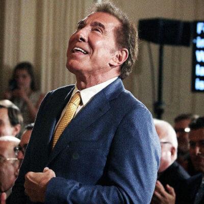 استیو وین سرمایه دار و میلیاردر آمریکایی شناخته شده در دنیای بیزینس کازینو