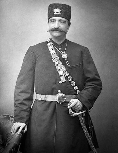 تصویری از ناصدرالدین شاه قاجار