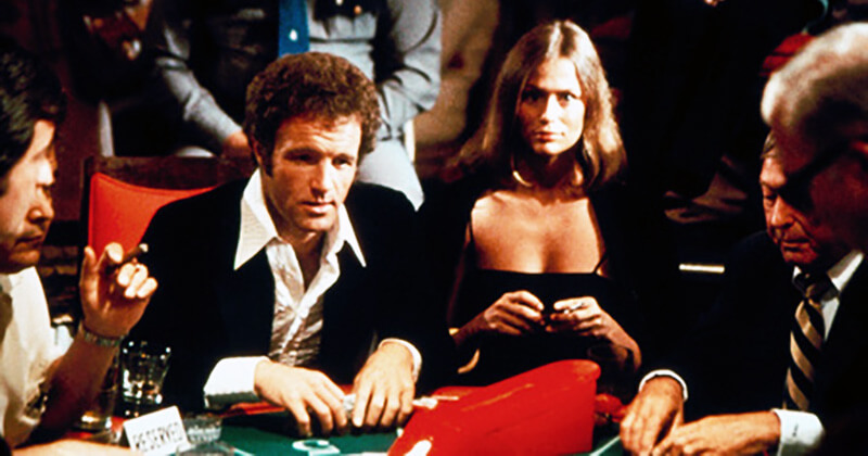 داستان فیلم سینمایی قمارباز 1974 به ماجراهایی میپردازد که پیرامون شخصیت یک فرد معتاد به قماربازی رخ میدهد