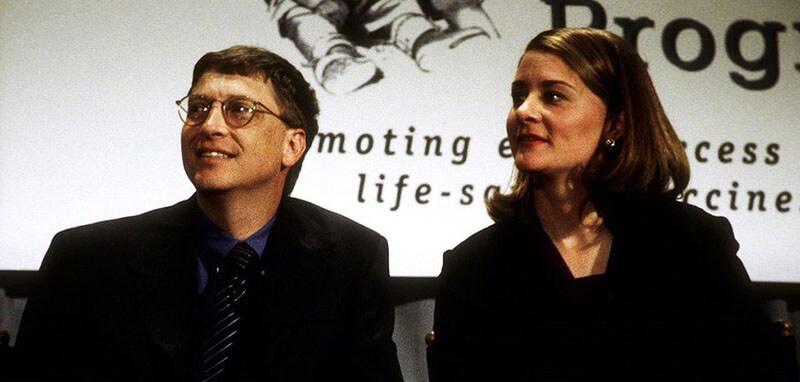تصویری عاشقانه از بیل گیتس و همسرش ملیندا در دوران جوانی